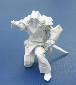 Amazingly Detailed Origami Swordsman By Hoang Trung Thanh Kiminha On Giladorigami