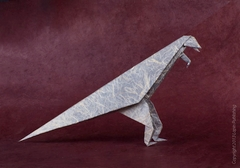 Origami Leaping lizard by J.C. Nolan on giladorigami.com