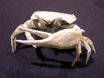 Origami Fiddler crab by Brian Chan on giladorigami.com