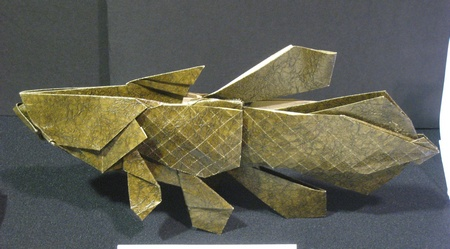 Origami Coelacanth by Kakami Hitoshi on giladorigami.com