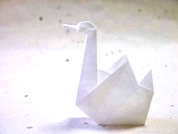 Origami Swan by Edwin Corrie on giladorigami.com