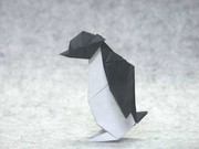 Origami Penguin by Juan Gimeno on giladorigami.com