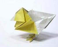 Origami Chick by Jun Maekawa on giladorigami.com