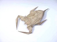 Origami Tagame (Giant water bug) by Yonami Ken on giladorigami.com