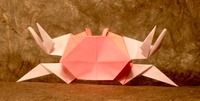 Origami Crab by Jun Maekawa on giladorigami.com