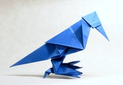 Origami Crow by Jun Maekawa on giladorigami.com