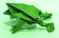 Origami Frog by Jun Maekawa on giladorigami.com