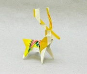 Origami Reindeer by Jun Maekawa on giladorigami.com