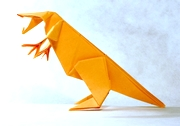 Origami Tyrannosaurus by Jun Maekawa on giladorigami.com