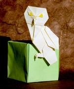 Origami Owl - snowy by John Montroll on giladorigami.com