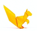 Origami Squirrel by John Montroll on giladorigami.com