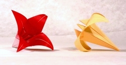 Origami Lily by Traditional on giladorigami.com