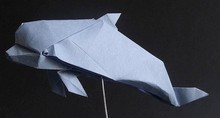Origami Dolphin by Hideo Komatsu on giladorigami.com