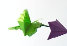 Origami Hummingbird by Fabian Correa on giladorigami.com
