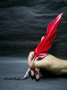 Origami Quill pen by Hoang Tien Quyet on giladorigami.com