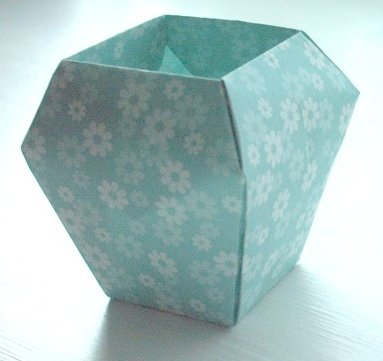 Easy Origami Vase Vase And Cellar Image Avorcor