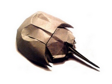 Origami Horseshoe crab by Ryo Aoki on giladorigami.com