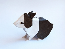 Origami Dutch rabbit by Seth M. Friedman on giladorigami.com
