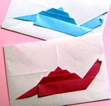 Origami Snail mail by Sy Chen on giladorigami.com