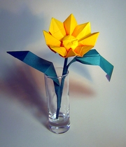 Origami Flower by David Collier on giladorigami.com