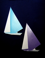 Origami Yacht by Toshie Takahama on giladorigami.com