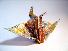 Origami Crane - congratulations by Traditional on giladorigami.com