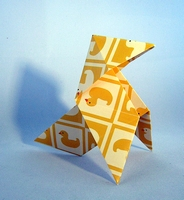Origami Pajarita by Traditional on giladorigami.com