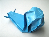 Origami Snail by Traditional on giladorigami.com