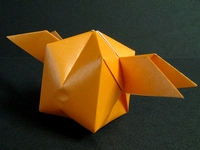 Origami Winged cube by Traditional on giladorigami.com