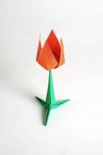 Simple flower yehuda peled gilads origami page 14 square origami simple flower by yehuda peled on giladorigami mightylinksfo