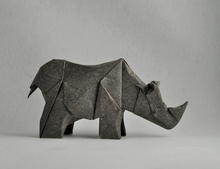 Origami Rhinoceros by Roman Diaz on giladorigami.com