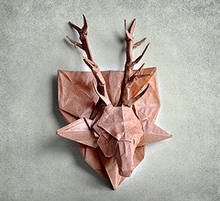 Origami Deer head by Andrey Ermakov on giladorigami.com