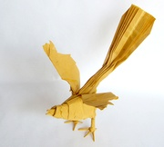 Origami Mockingbird by Seth M. Friedman on giladorigami.com