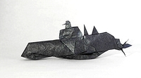 Origami Submarine by Sergio L. Guarachi Veliz on giladorigami.com