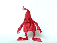 Origami Dwarf by Eric Joisel on giladorigami.com