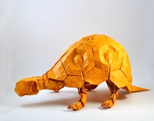 Origami Turtle by Eric Joisel on giladorigami.com