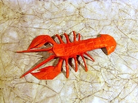 Origami Lobster - Maine by Robert J. Lang on giladorigami.com