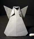 Origami Angel by Kunihiko Kasahara on giladorigami.com