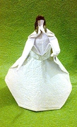 Origami Dancing lady by John Smith on giladorigami.com