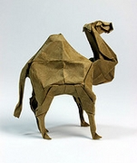 Origami Camel by Seo Won Seon (Redpaper) on giladorigami.com
