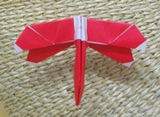 Origami Dragonfly by Seo Won Seon (Redpaper) on giladorigami.com