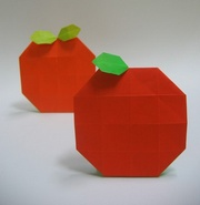 Origami Orange by Seo Won Seon (Redpaper) on giladorigami.com
