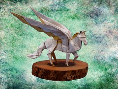 Origami Pegasus by Dong Viet Thien on giladorigami.com