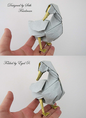Origami Pekin duck by Seth M. Friedman on giladorigami.com