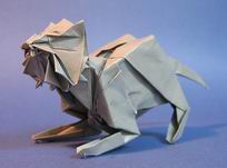 Origami Tiger by Issei Yoshino on giladorigami.com
