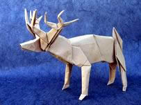 Origami Deer by Ronald Koh on giladorigami.com