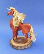 Origami Horse by Hoang Tien Quyet on giladorigami.com