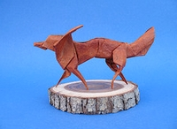 Origami Fox by Stephen Weiss on giladorigami.com