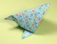 Origami Hungry chick by Francisco Javier Caboblanco on giladorigami.com