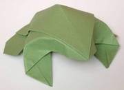 Origami Toad by Nick Robinson on giladorigami.com